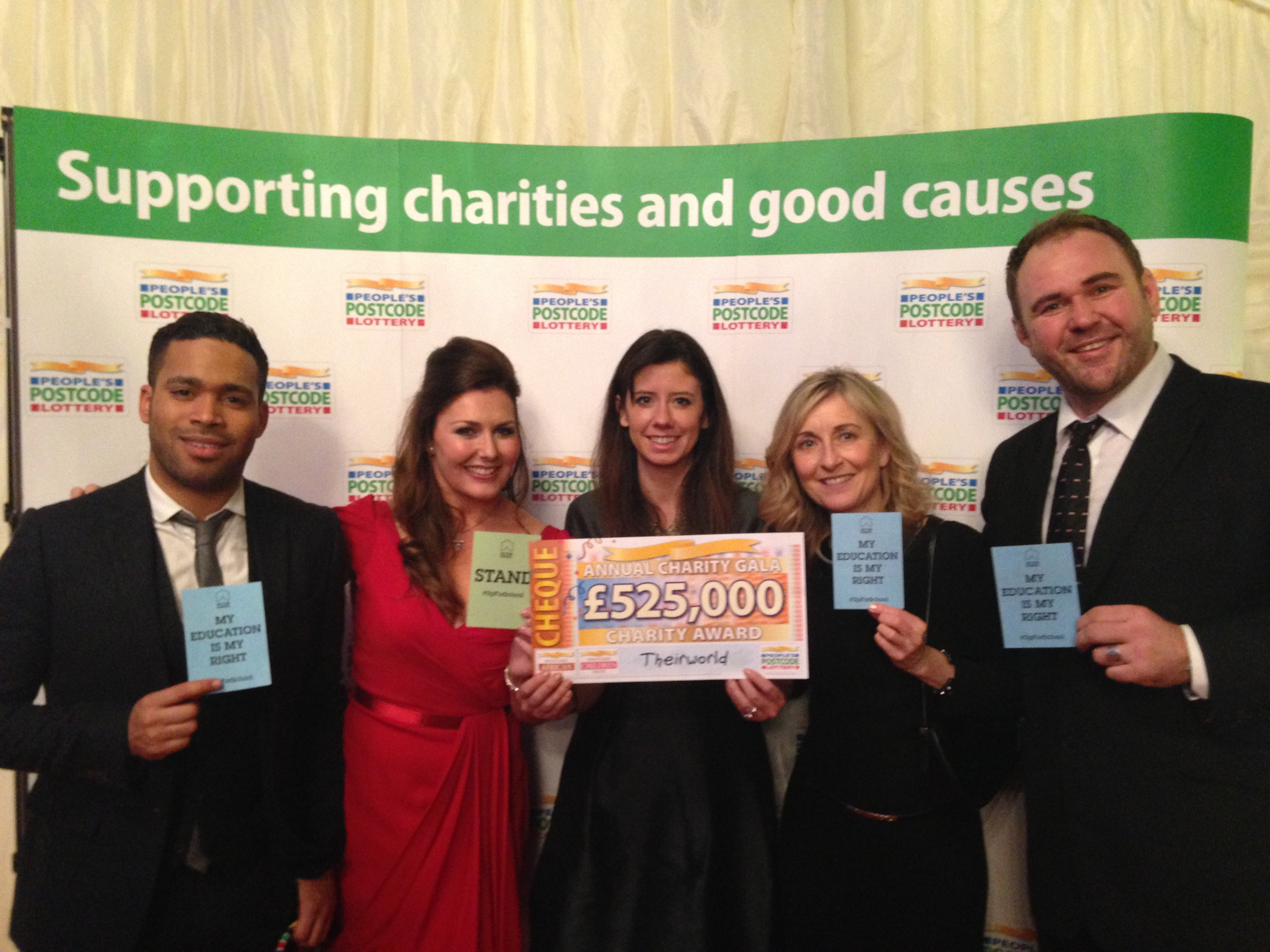 People's Postcode Lottery UK Awards Grant to Fund Safe Schools and Education Without Borders